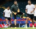 UEFA Champions League. Juventus during training session