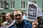 Rally for relocation program in Moscow