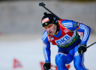 Maksim Chudov came second in men's pursuit