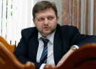 Kirov Region Governor Nikita Belykh during interview