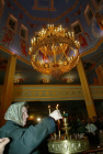 Easter service in the city of Grozny