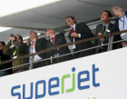 Sukhoi Superjet 100 at Le Bourget Air Show