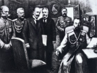 Russian Emperor Nicholas II's abdication