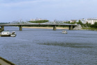 Bridge across Volga River