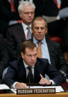 Dmitry Medvedev attends UN Security Council summit