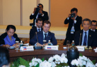 President Dmitry Medvedev during APEC summit. Day two