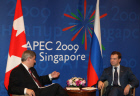 Russian President and Prime Minister of Canada met in Singapore