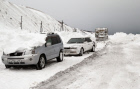 Removing snow from Sakhalin freeways