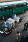 Car crash in Moscow