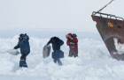 Rescue operation completed in the Okhotsk Sea