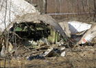 Polish Air Force Tu-154 crash site