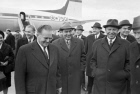 Yugoslavian governmental and party delegation visiting USSR