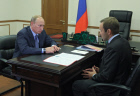 Vladimir Putin meets with Alexei Kuzmitsky