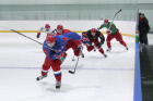Ice hockey. Open training of Russian national junior hockey team