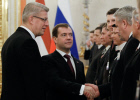 Latvian President on official visit to Russia