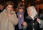 Khodorkovsky's wife Inna, daughter Nastya and mother Marina