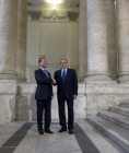 Dmitry Medvedev's official visit to Italy