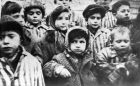 Children liberated from Auschwitz camp