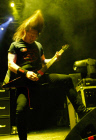 Slayer and Megadeth bands in concert at Olimpiysky Arena