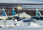 Training missions of Northern Fleet 279th fighter wing