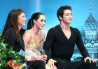 Tessa Virtue, Scott Moir and Marina Zueva