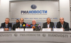 News conference with representatives of Palestinian movements