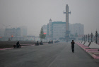 Yakutsk blanketed in smog