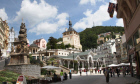 City center. Karlovy Vary