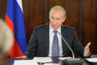 Vladimir Putin at meeting of Popular Front Coordinating Council