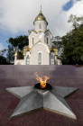 Vladivostok's Eternal Flame lit up again