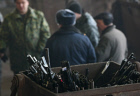 Kazankompressormash factory eliminates confiscated weapons