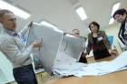 Vote count at State Duma elections