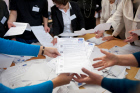 Election commissions count ballots following Duma elections