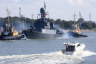 Baltic Fleet ships set out to sea for Zapad 2017 military exercise