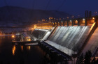 Russia Hydroelectric Station