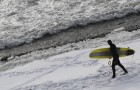 Russia Winter Surfing