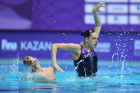 Russia Artistic Swimming World Series Mixed Duet Technical