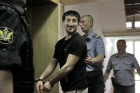 Court hearing of athelete Rasul Mirzayev's case