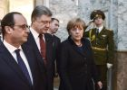 Russian, German, French and Ukrainian leaders meet for talks