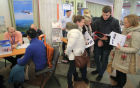 Vacancy fair for former Transaero employees in Moscow