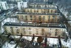 Five-storey houses in Moscow