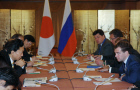 Russian President and Prime Minister of Japan met in Singapore